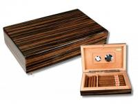 Business Travel-Humidor Tigerwood V-65