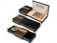 Humidor-Zigarrenascher Ebenholz