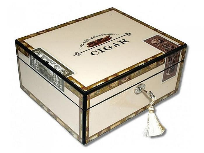 Angelo Humidor High Closs Cigarbox V-460