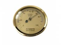 Haar-Hygrometer gold 44