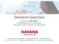 Havana Geschenk-Gutschein