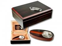 Teak-Decor Humidor-Set