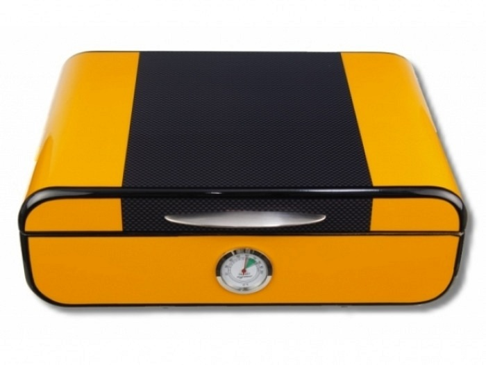Colton Humidor Carbon-Yellow V-360